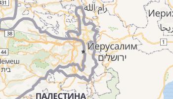 Восточный Иерусалим - детальная карта