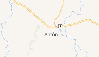 Антон - детальная карта