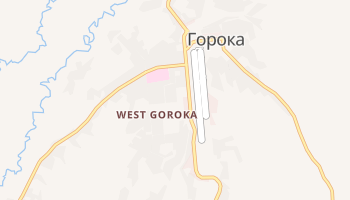Горока - детальная карта