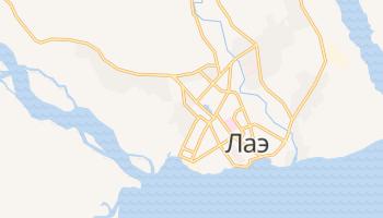 Лаэ - детальная карта