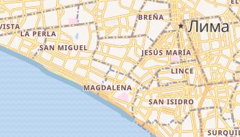 Магдалена - детальная карта