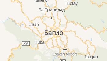 Багио - детальная карта