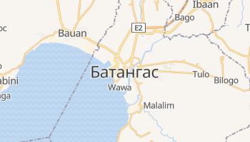 Батангас - детальная карта
