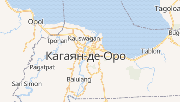 Кагаян-де-Оро - детальная карта