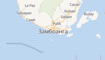 Замбоанга - детальная карта