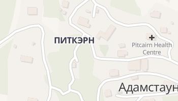 Адамстаун - детальная карта
