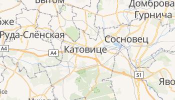 Катовице - детальная карта