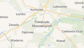 Томашув-Мазовецкий - детальная карта