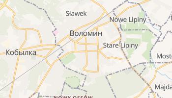 Воломин - детальная карта