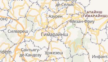 Гимарайнш - детальная карта