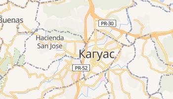 Кагуас - детальная карта