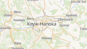 Клуж-Напока - детальная карта