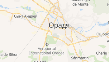 Орадя - детальная карта