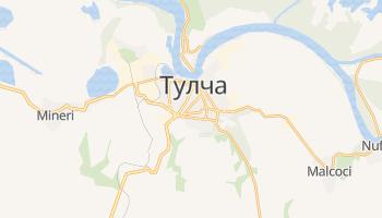 Тулча - детальная карта