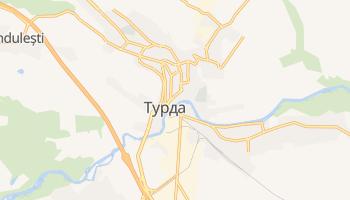 Турда - детальная карта