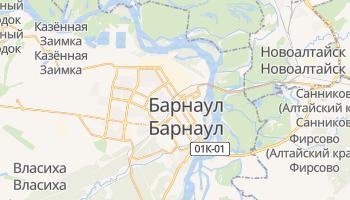 Барнаул - детальная карта