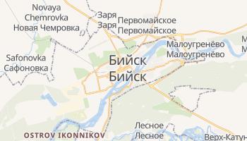 Бийск - детальная карта