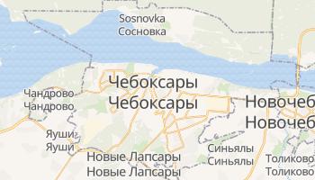 Чебоксары - детальная карта