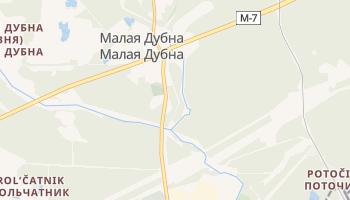 Дубна - детальная карта