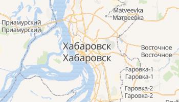 Хабаровск - детальная карта