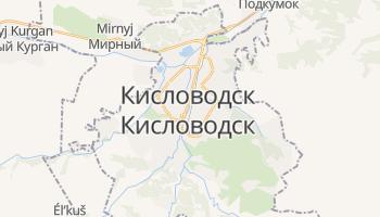 Кисловодск - детальная карта