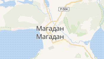 Магадан - детальная карта