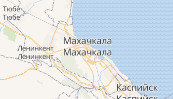 Махачкала - детальная карта