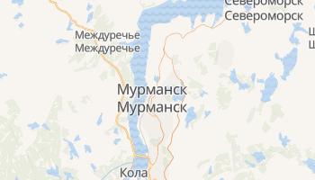 Мурманск - детальная карта