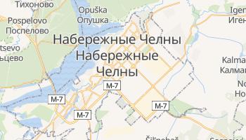 Набережные Челны - детальная карта