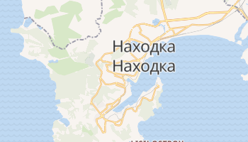 Находка - детальная карта