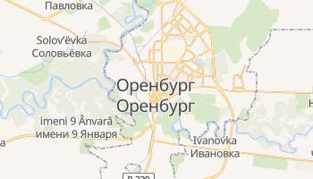 Оренбург - детальная карта