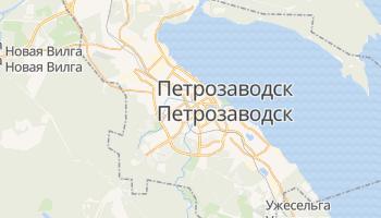 Петрозаводск - детальная карта