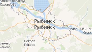 Рыбинск - детальная карта