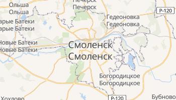 Смоленск - детальная карта