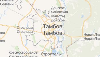 Тамбов - детальная карта