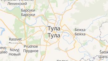 Тула - детальная карта