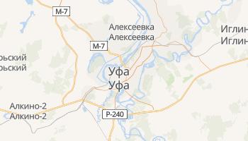 Уфа - детальная карта