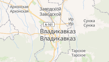 Владикавказ - детальная карта