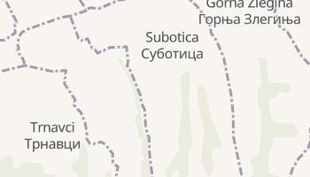 Суботица - детальная карта