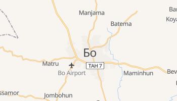 Бо - детальная карта