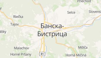 Банска-Бистрица - детальная карта