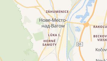 Нове-Место-над-Вагом - детальная карта