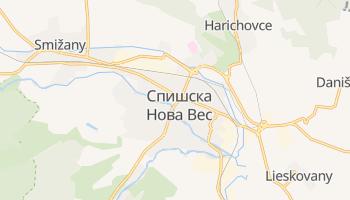 Спишска Нова Вес - детальная карта
