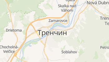 Тренчин - детальная карта