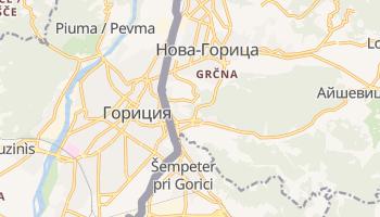 Гориция - детальная карта