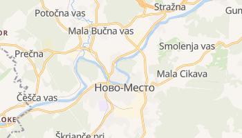Ново-Место - детальная карта