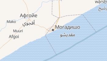 Могадишу - детальная карта