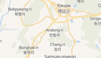 Андон - детальная карта
