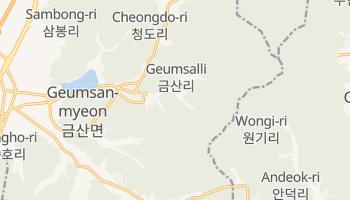 Аньян - детальная карта