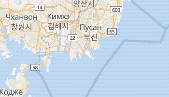 Бусан - детальная карта
